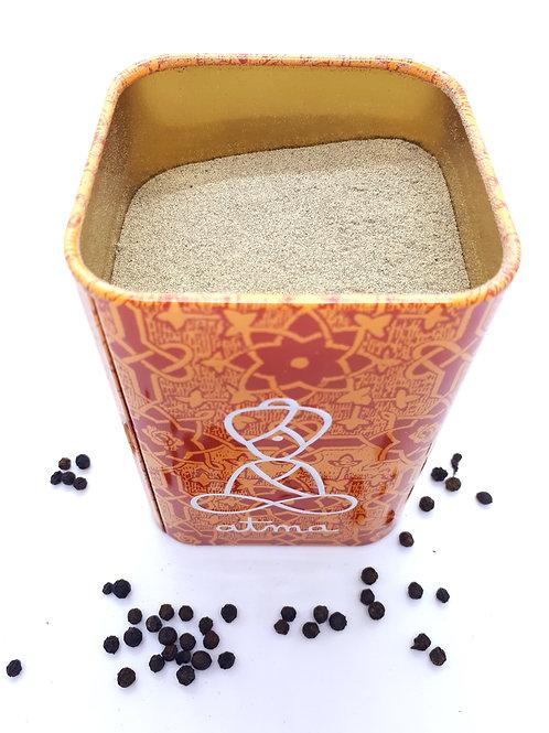 Poivre noir bio en poudre 250 g