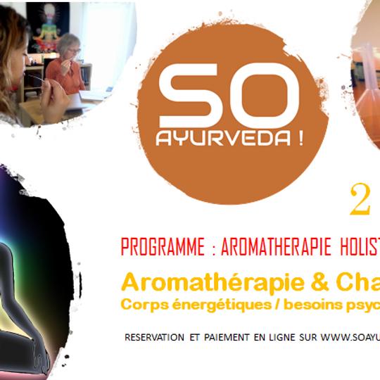 Aromathérapie et chakras (AH2)