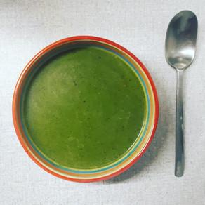 Soupe reminéralisante riche en fer