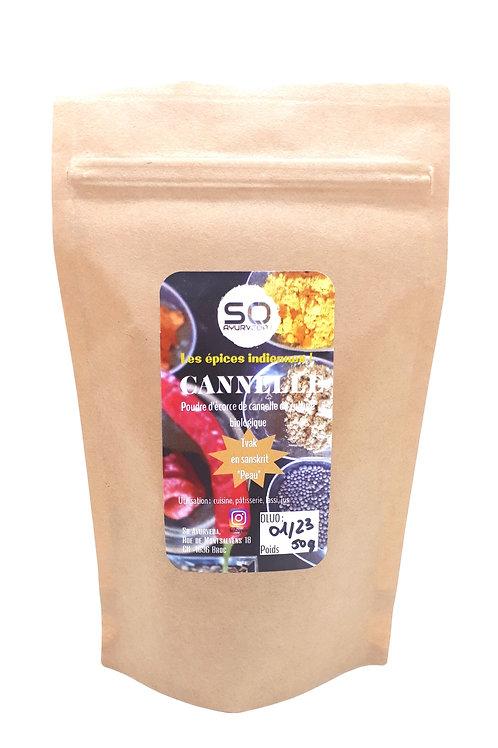 Cannelle écorce en poudre bio 50 g
