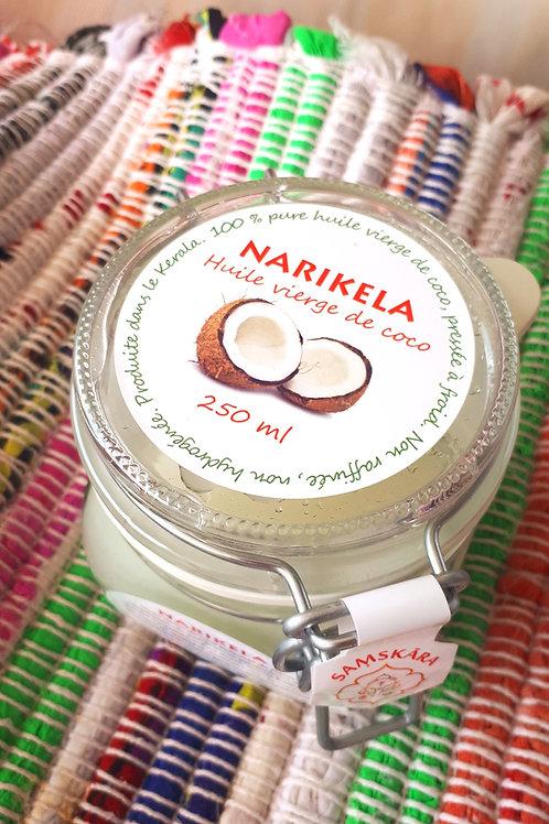 Narikela, huile vierge de coco