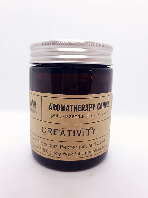 Bougie aromatherapy menthe girofle