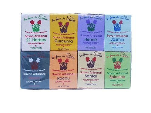 Coffret 8 savons 30 g