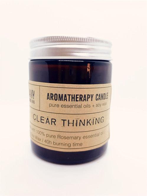 Bougie aromatherapy Romarin