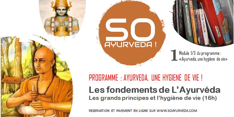 Les fondements de l'ayurveda et l'hygiène de vie (AHV1)