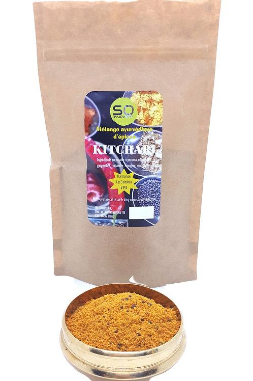 Mélange d'épices ayurvédique pour kitchari