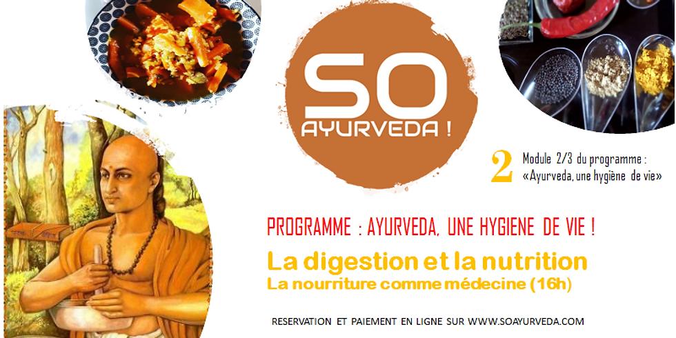 La digestion et la nutrition ayurvédique (AHV2)