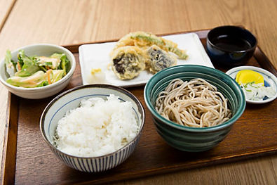 Soba Lunch Combination