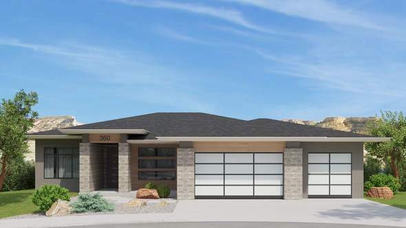 Modern Prairie Style with Monument Views - Just Listed!