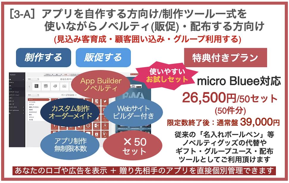 プラン[3-A]自作+ノベルティ(販促)・配布サービス