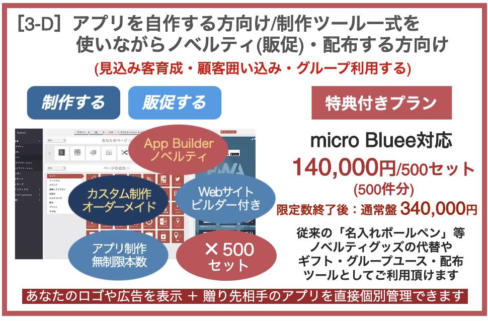 プラン[3-D]自作+ノベルティ(販促)・配布サービス