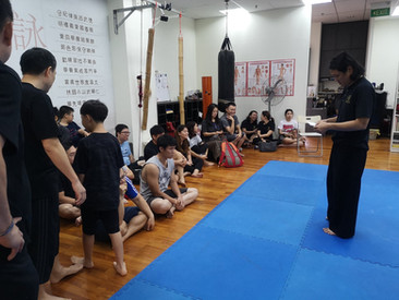 WCKTC Sparing Competition
