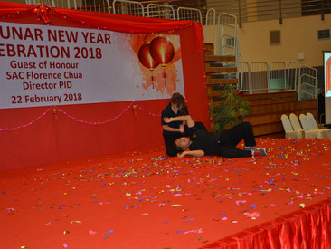 Police Intelligence Department CNY Event Performance