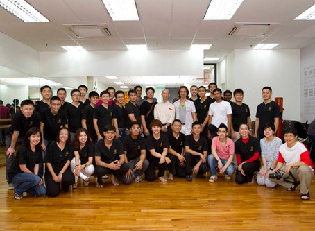 Opening Ceremony of Wing Chun Kuen Training Centre (Midview City; new location)