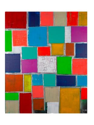 Acryl auf Leinwand 80 x 100 cm