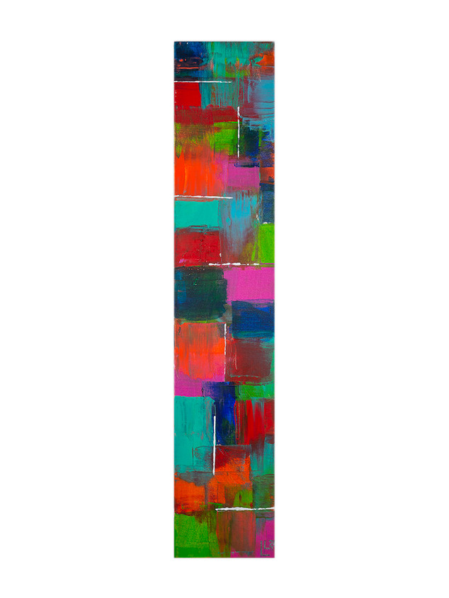 Acryl auf Leinwand 20 x 100 cm