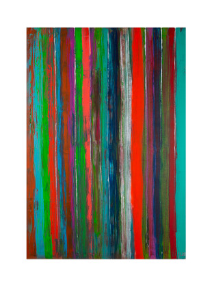 Acryl auf Leinwand 70 x 100 cm