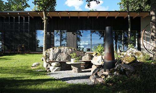 Modernistisk skogsträdgård | FALKABACKEN