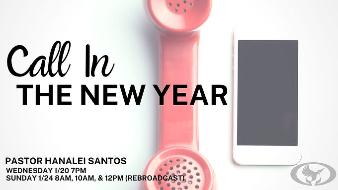 CALL IN THE NEW YEAR