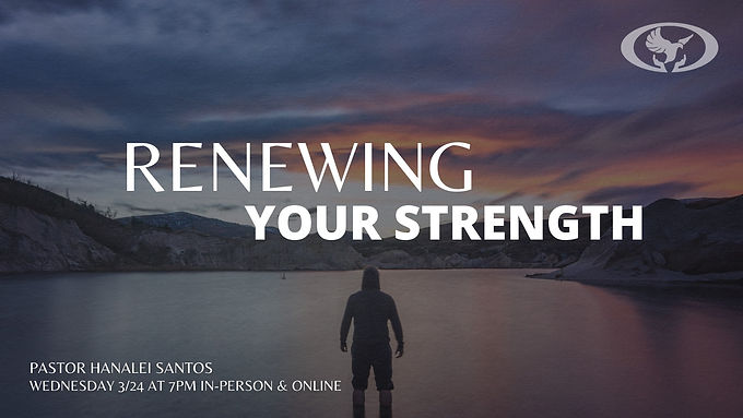 Renewing Your Strength
