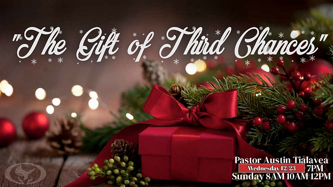 The Gift of Third Chances