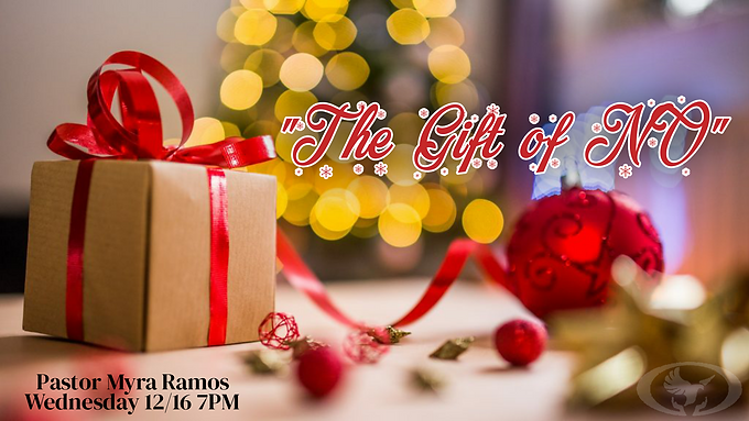 The Gift of No