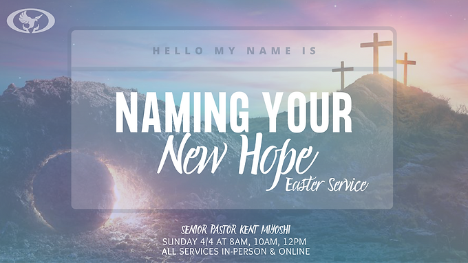 NAMING YOUR NEW HOPE