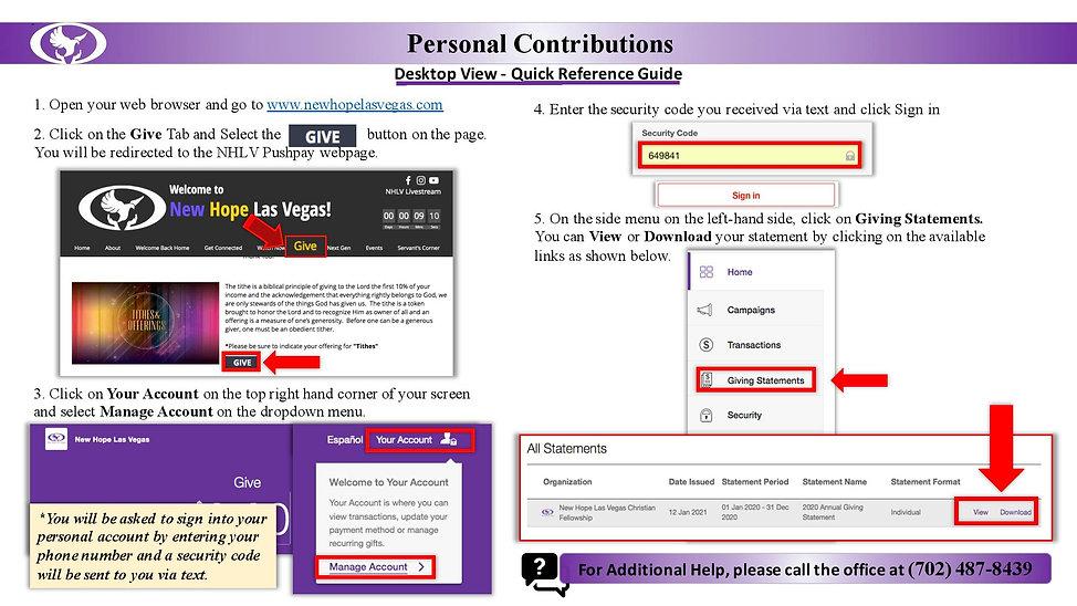 Personal Contribution Desktop QRG PDF V2