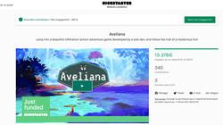 Concept art pour le Kickstarter d'Aveliana