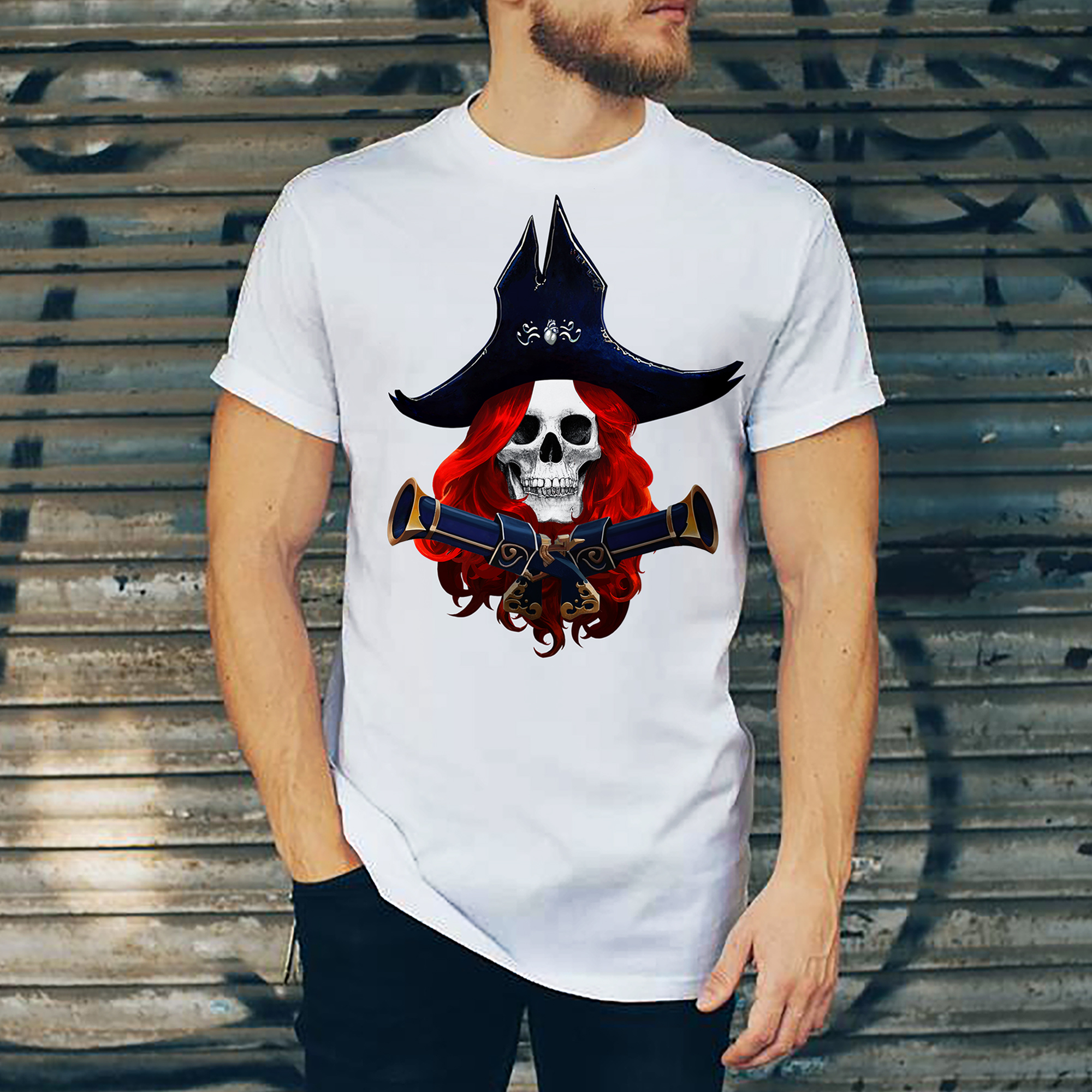 Miss Fortune version Skull
