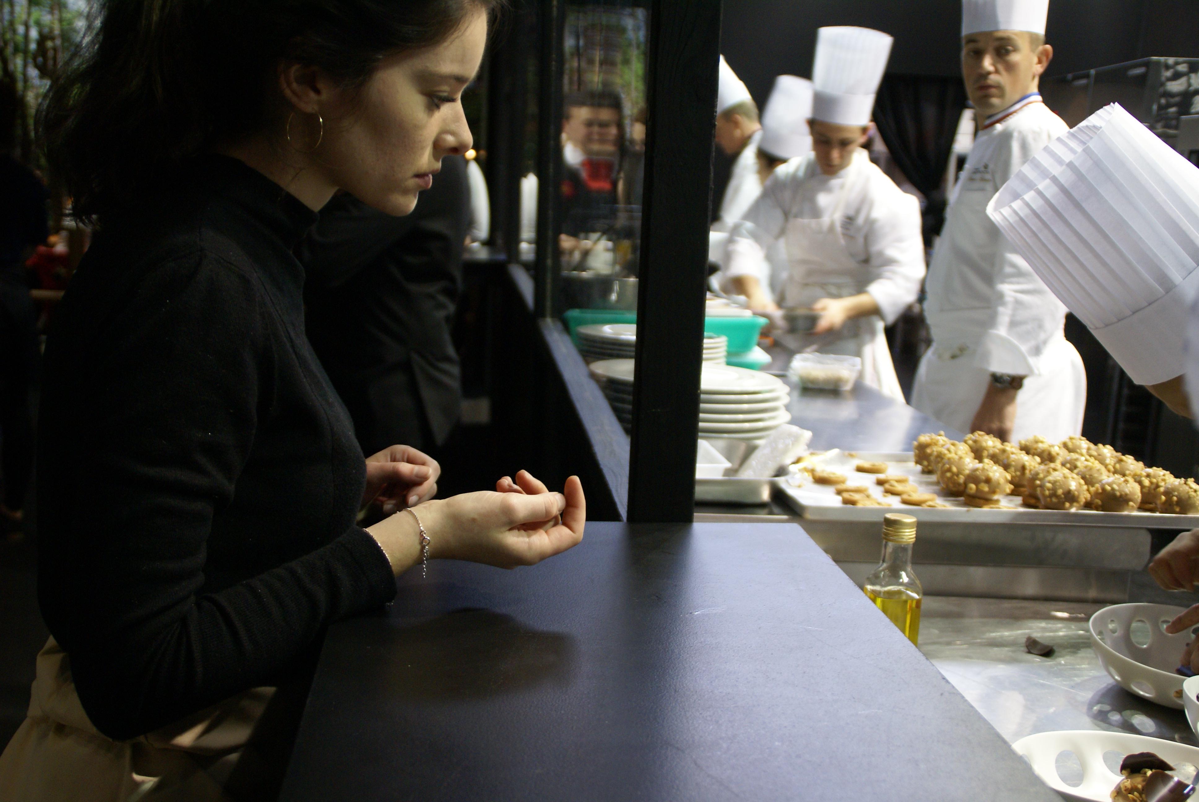 Restaurant 6ième sens au Sirha.