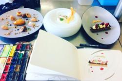 Dessin Culinaire Institut Pau Bocuse