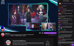 Screenshot en live sur Twitch