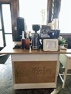 Espresso Bar Cart