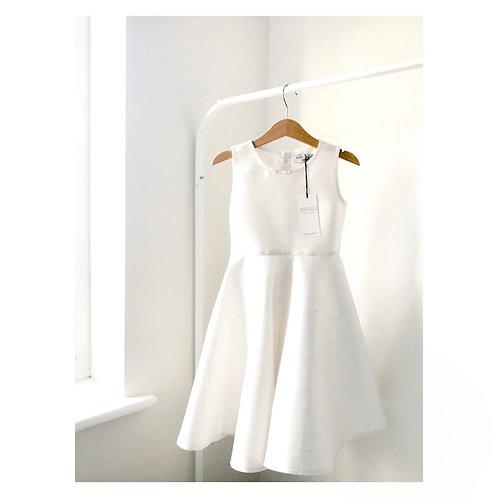 White Mulberry Silk Dress