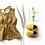 Thumbnail: Linen bows - Glitter Bands