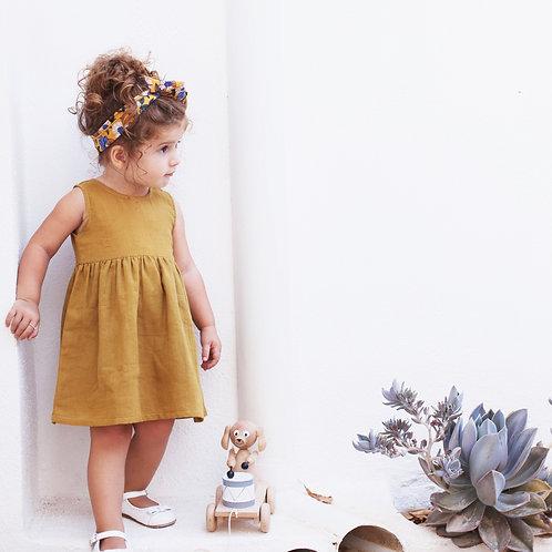 Mila Mustard Dress