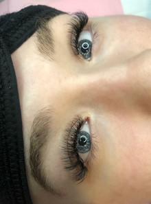 Hybrid Eyelash Extensions by Ashley