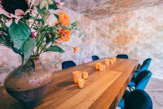 Familie tafel van St. Tropez in Deventer