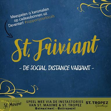 St Triviant de social distance variant f