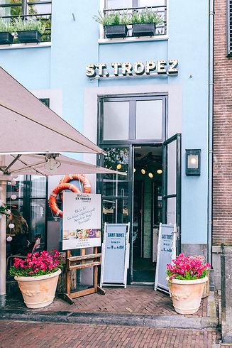 Interieur ST Tropez Deventer buiten