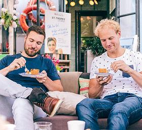 koffie met gebak in Deventer