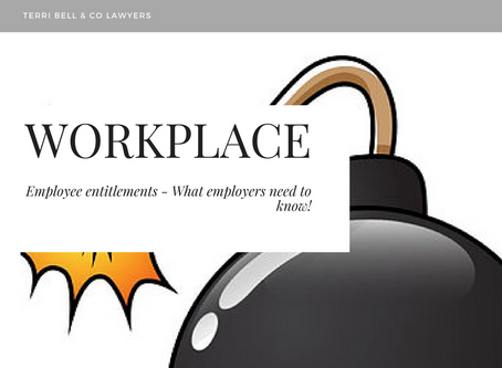 Are you sitting on a ticking time bomb? Employers and HR Managers - take heed!