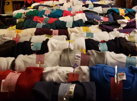Sweatshirts for Homeless Veterans
