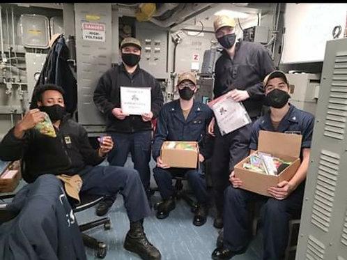 Military Appreciation Box & Shipping