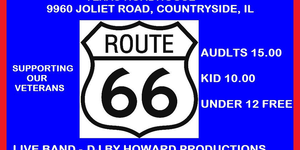 Get Your Kicks On Route 66 - Hosted by K9's for Veterans