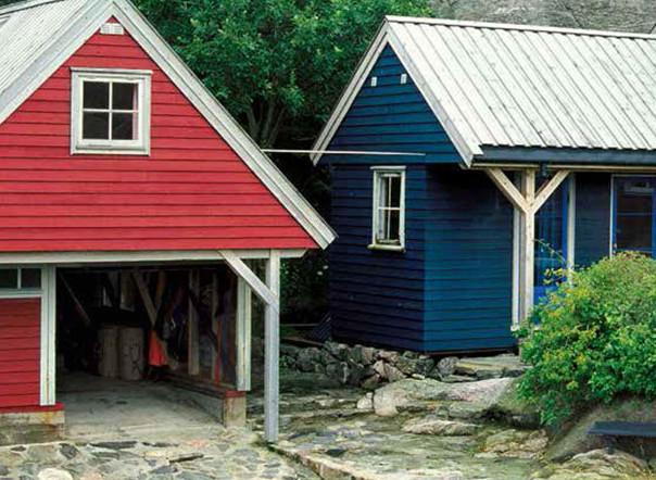 Holzschutz mit Holzfarben und Lasuren von Jotun