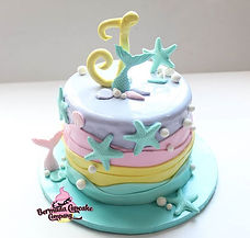 Under The Sea themed 8_ Cake 🐚_•_To ord