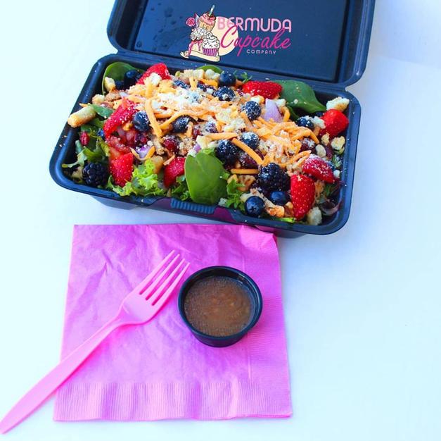 Mixed Berry Salad w/ Chicken