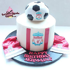Liverpool Birthday Cake ⚽️_•_To order vi